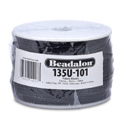 Beadalon Elastic Stringing Wire 1.0mm Black