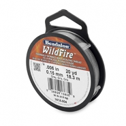Beadalon Wildfire Wire 0.15mm Grey