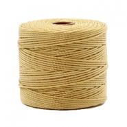 Nylon S-Lon cord 0.6mm Light Bronze Brown
