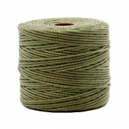 Nylon S-Lon cord 0.6mm Olive Green