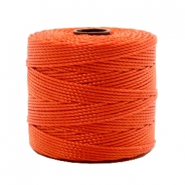 Nylon S-Lon cord 0.6mm Dusty Red-Orange