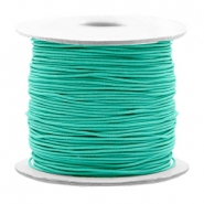 Coloured elastic cord 0.8mm Turquoise Green