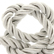 Trendy cord weave 10mm Silver