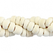 Coconut beads disc 5-6mm White (natural colour coconut)