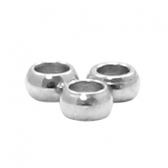 Stainless steel round beads 2mm Silver