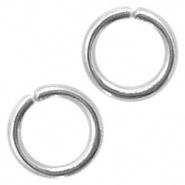 Stainless Steel findings jump ring 4mm Antique Silver