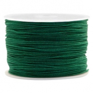 Macramé bead cord 1.0mm Atlantic Deep Green