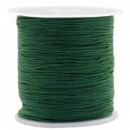 Macramé bead cord 0.5mm Atlantic Deep Green