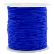 Macramé bead cord 0.5mm Royal Blue