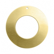 ImpressArt stamping blanks charms ring 25mm Brass Light Gold