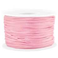Macramé bead cord 1.5mm satin Pink
