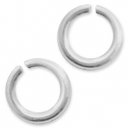 925 Silver findings jump rings 8mm Silver
