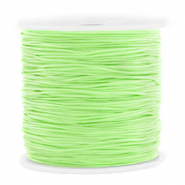 Macramé bead cord 0.8mm Mint Green