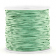 Macramé bead cord 0.8mm Basil Green