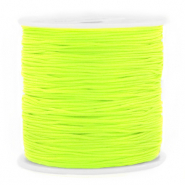 Macramé bead cord 0.8mm Neon Green