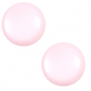 7 mm classic Polaris Elements cabochon Shiny Seashell Pink