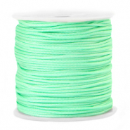Macramé bead cord 1.5mm Green Ash