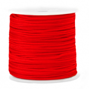 Macramé bead cord 1.5mm Fiery Red