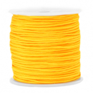 Macramé bead cord 1.5mm Marigold Cheer Yellow