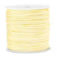 Macramé bead cord 1.5mm Sunlight Yellow