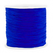 Macramé bead cord 0.8mm Cobalt Blue