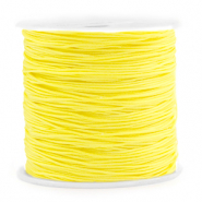 Macramé bead cord 0.8mm Sunshine Yellow