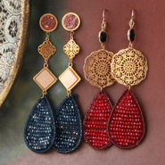 Beads / charms Check out all crochet pendants here