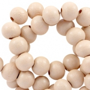 Wooden beads Wooden beads round 6mm