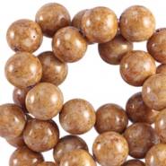 Natural stone beads 4 mm natural stone beads