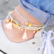 Inspirational Sets Summer ankle bracelets!