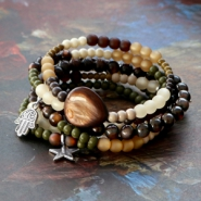 Inspirational Sets Jewellery in natural colours