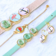 Inspirational Sets Cheerful jewellery with basic cabochons