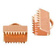 DQ lace clip 8mm Rose gold plated