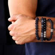 Inspirational Sets Robust men's jewellery with beads