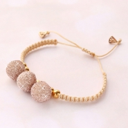 Inspirational Sets Festive bracelets with pompom charms