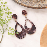 Inspirational Sets Wild times! Statement earrings + bracelets with snake print