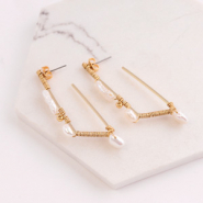 Inspirational Sets Creating minimalist earrings with freshwater pearls!