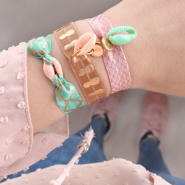 Inspirational Sets EASY DIY: cute bracelets in less than 2 minutes