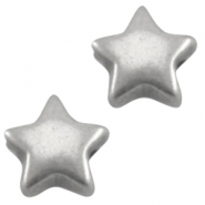 DQ metal star 6mm Antique Silver (nickel free)