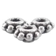 DQ metal tube ring 5.5x2.8mm Antique Silver (nickel free)