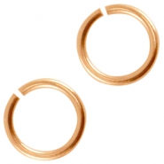 DQ metal jumpring 5.5mm Rose gold (nickel free)