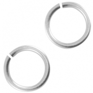 DQ metal jump ring 4.5mm Antique silver (nickel free)