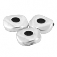 DQ metal bead 4.8x1.9mm Antique silver (nickel free)