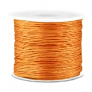 Macramé bead cord 0.7mm Light copper brown