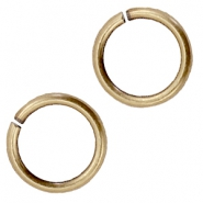 DQ metal jump ring 9mm Antique bronze (nickel free)