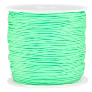 Macramé bead cord 0.8mm Bright spring green