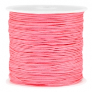 Macramé bead cord 0.8mm Rose peach