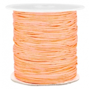 Macramé bead cord 1.0mm Peach orange