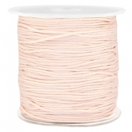 Macramé bead cord 1.0mm Light peach