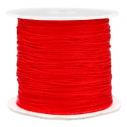 Macramé bead cord 0.7mm Fiery red